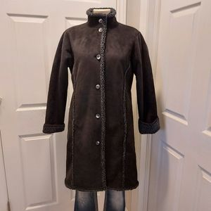 Vintage LLBean Long Cozy Jacket Size Small